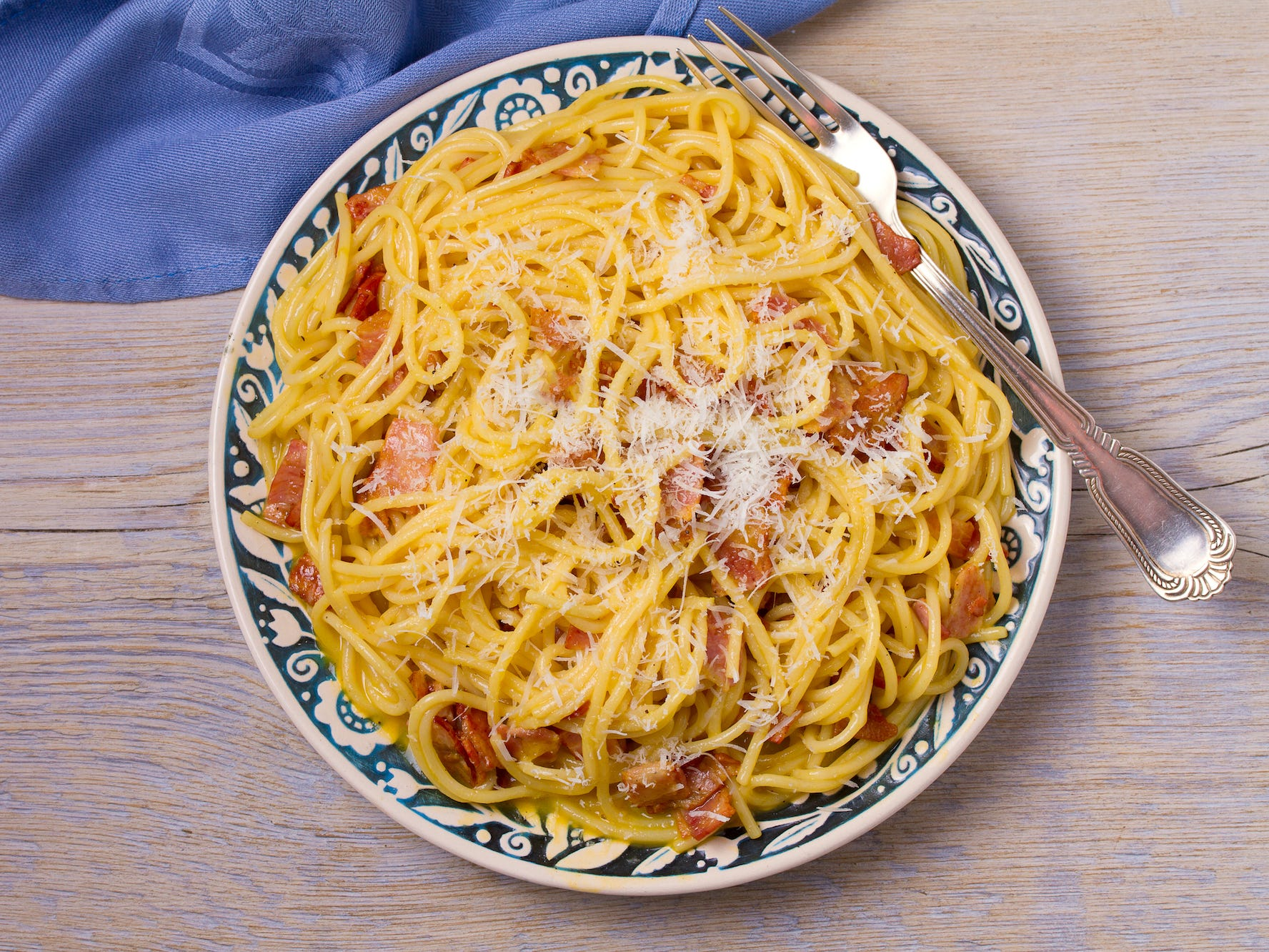 Pasta won't make you gain weight, according to a new study