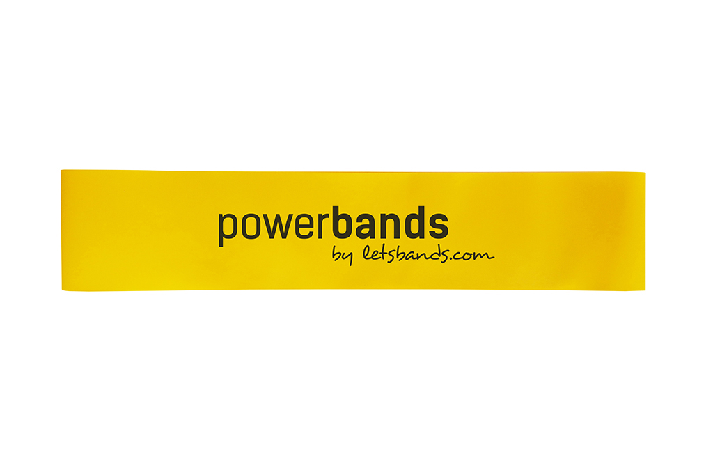 Let's Bands Powerbands MINI Light Yellow