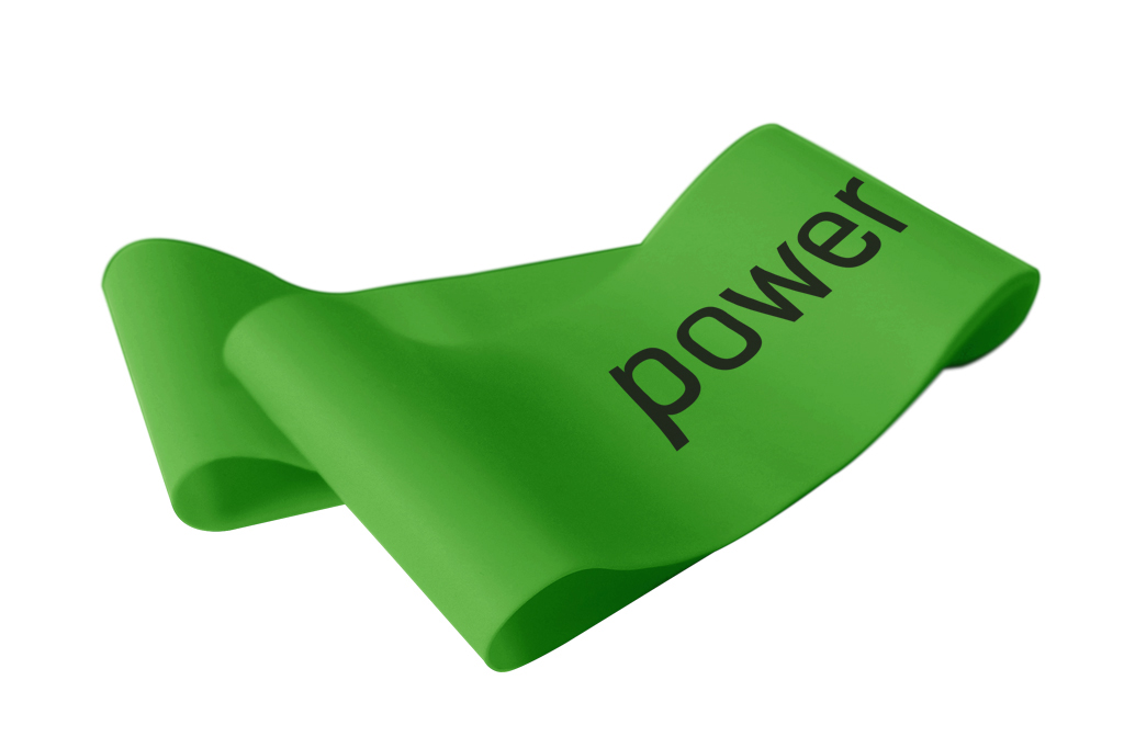 Let's Bands Powerbands MINI Medium Green