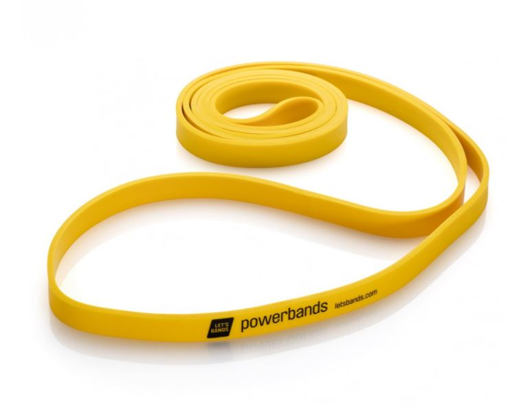 Let's Bands Powerbands MAX Light Yellow