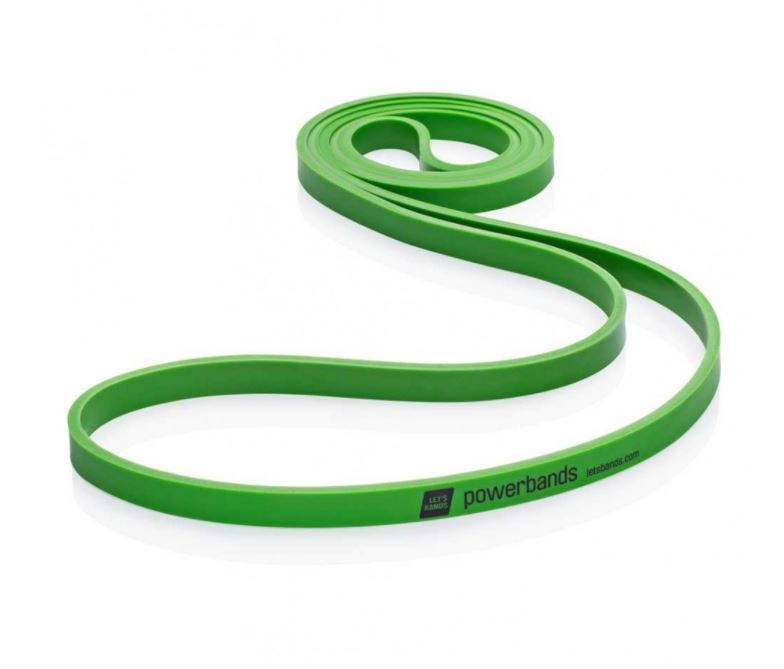 Let's Bands Powerbands MAX Medium Green